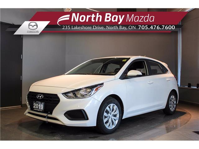 2019 Hyundai Accent ESSENTIAL (Stk: U6777) in North Bay - Image 1 of 18