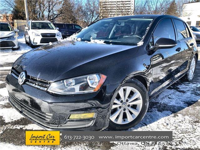 2015 Volkswagen Golf 1.8 TSI Comfortline (Stk: 055079) in Ottawa - Image 1 of 23