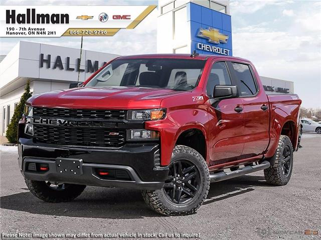 2021 Chevrolet Silverado 1500 Silverado Custom Trail Boss (Stk: 21183) in Hanover - Image 1 of 23