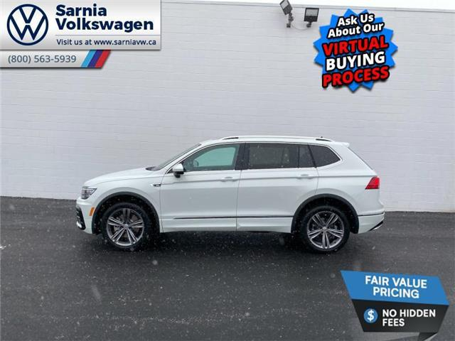 2021 Volkswagen Tiguan Highline (Stk: V2150) in Sarnia - Image 1 of 23