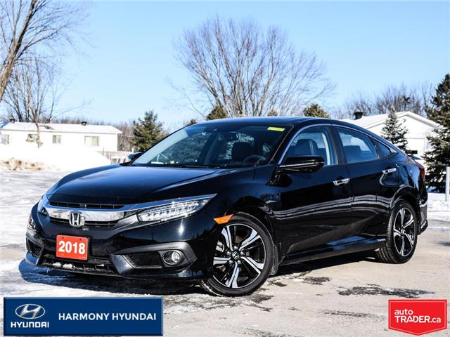 2018 Honda Civic Touring (Stk: 21086A) in Rockland - Image 1 of 30