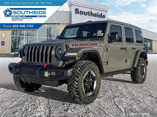 2021 Jeep Wrangler Unlimited Rubicon (Stk: WR2119) in Red Deer - Image 1 of 25