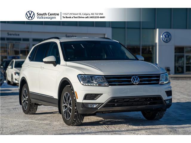 2021 Volkswagen Tiguan Comfortline (Stk: 10091) in Calgary - Image 1 of 41