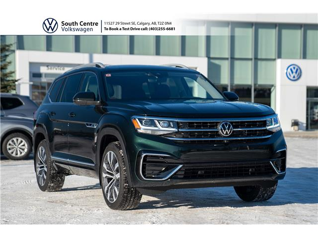 2021 Volkswagen Atlas 3.6 FSI Execline (Stk: 10096) in Calgary - Image 1 of 50