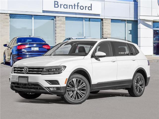 2021 Volkswagen Tiguan Highline (Stk: TI21888) in Brantford - Image 1 of 10