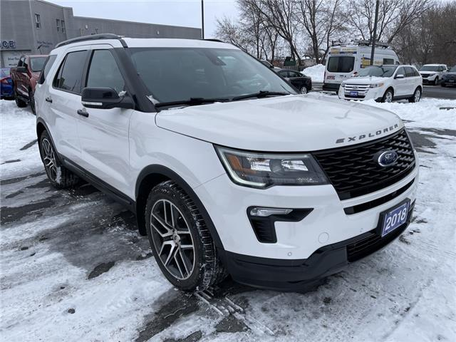 2018 Ford Explorer Sport (Stk: 20406B) in Cornwall - Image 1 of 28