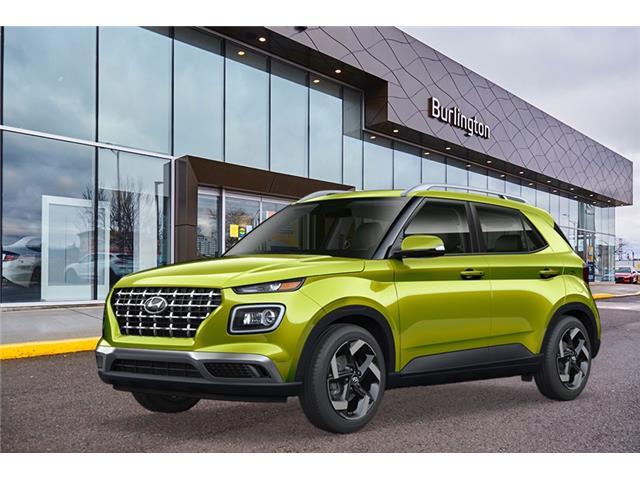 2020 Hyundai Venue Ultimate w/Grey-Lime Interior (Stk: N2187) in Burlington - Image 1 of 3