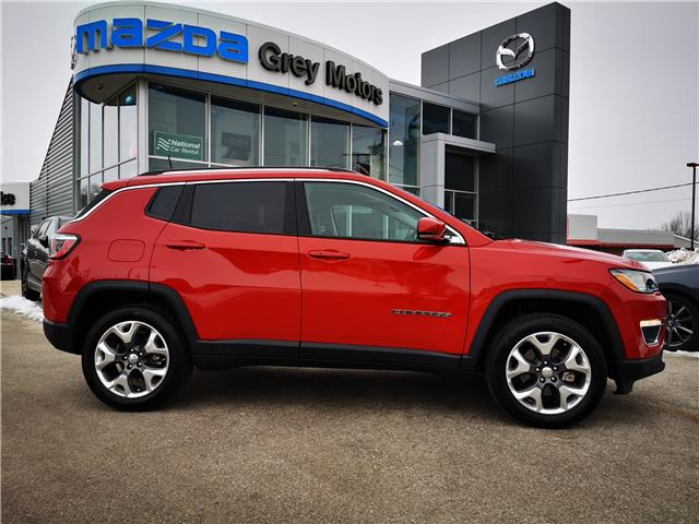 2020 Jeep Compass Limited (Stk: 03403P) in Owen Sound - Image 1 of 20