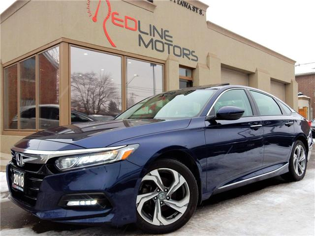 2018 Honda Accord EX-L (Stk: 1HGCV1) in Kitchener - Image 1 of 25