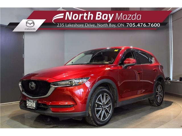 2018 Mazda CX-5 GT (Stk: U6778) in North Bay - Image 1 of 24
