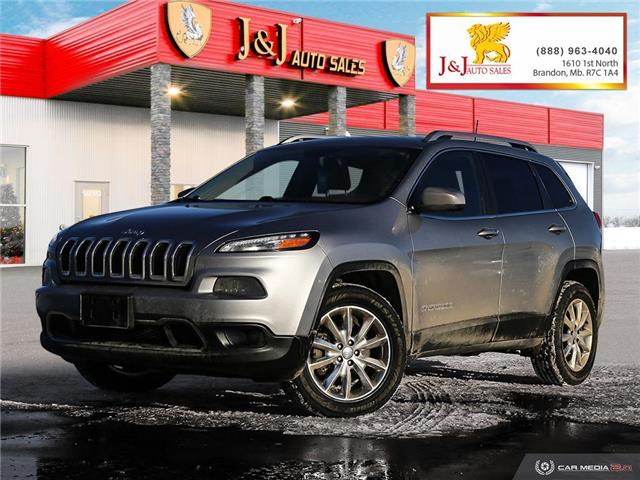 2016 Jeep Cherokee Limited (Stk: J2129) in Brandon - Image 1 of 27