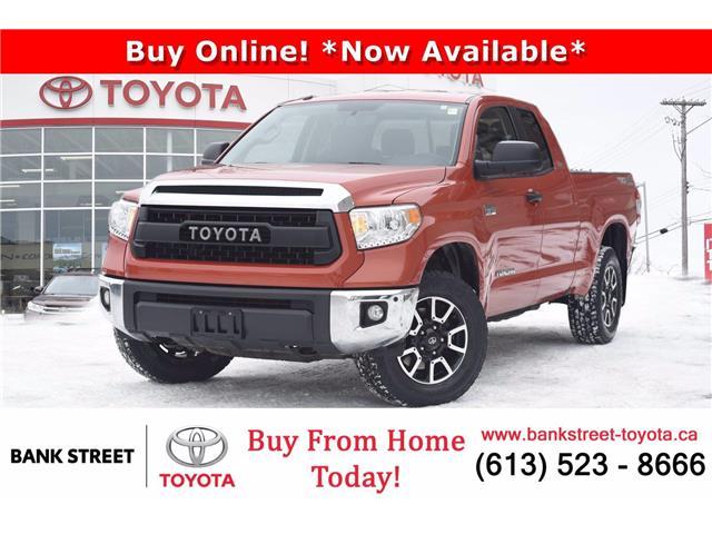 2017 Toyota Tundra SR5 Plus 5.7L V8 (Stk: L28868) in Ottawa - Image 1 of 28