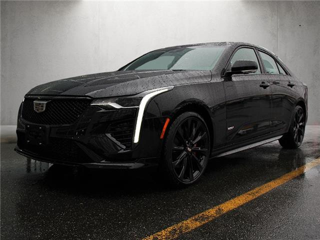 2021 Cadillac CT4 V-Series (Stk: 216-2630) in Chilliwack - Image 1 of 14