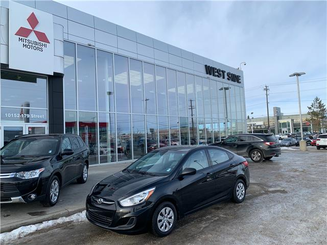 2016 Hyundai Accent GL (Stk: 7427) in Edmonton - Image 1 of 25