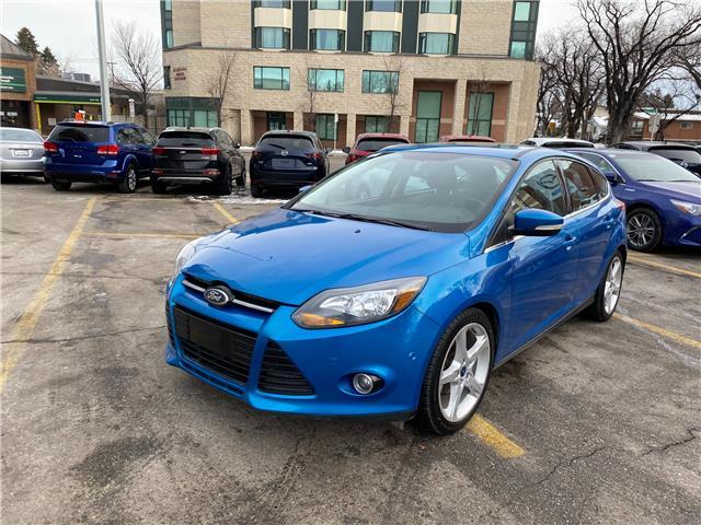 2012 Ford Focus Titanium 1FAHP3N26CL424995 NT3236 in Calgary