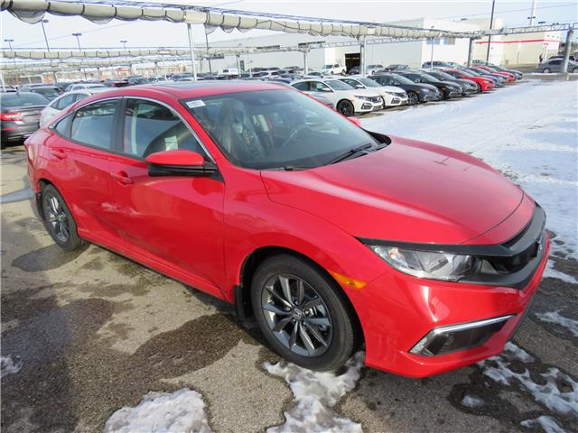 2021 Honda Civic EX (Stk: 210053) in Airdrie - Image 1 of 8