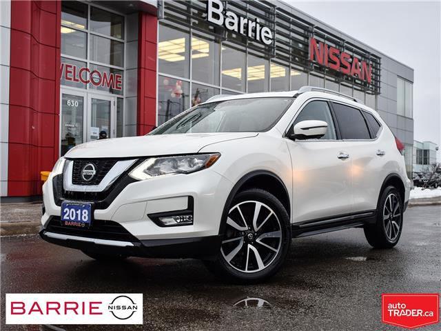 2018 Nissan Rogue SL w/ProPILOT Assist (Stk: P4763) in Barrie - Image 1 of 30