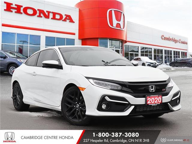 2020 Honda Civic Si Base 2HGFC3A50LH220382 21180A in Cambridge