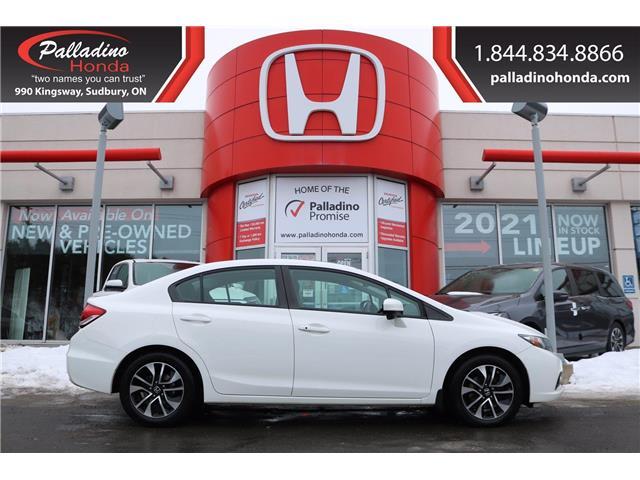 2015 Honda Civic EX (Stk: 22823B) in Greater Sudbury - Image 1 of 34