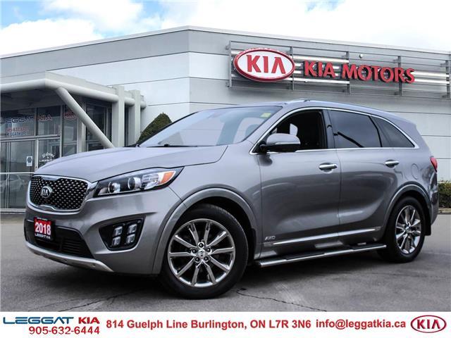 2018 Kia Sorento  (Stk: 2552) in Burlington - Image 1 of 30