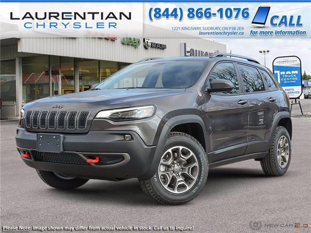 2021 Jeep Cherokee Trailhawk (Stk: 21128) in Sudbury - Image 1 of 19