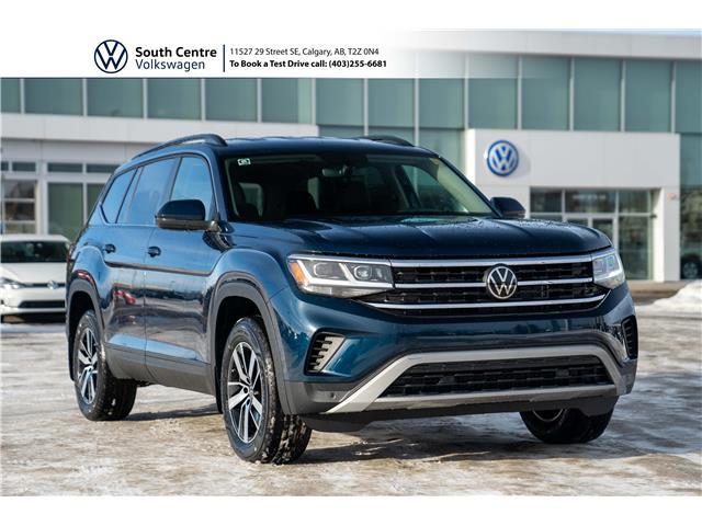 2021 Volkswagen Atlas 2.0 TSI Comfortline (Stk: 10097) in Calgary - Image 1 of 44