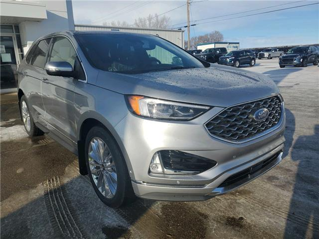 2020 Ford Edge Titanium (Stk: 20303) in Wilkie - Image 1 of 23
