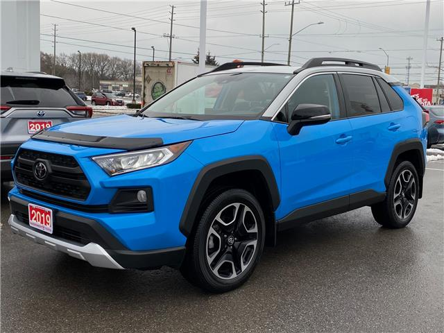 2019 Toyota RAV4 Trail (Stk: W5255A) in Cobourg - Image 1 of 29