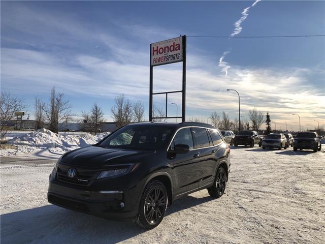 2021 Honda Pilot Black Edition (Stk: H16-4607) in Grande Prairie - Image 1 of 29