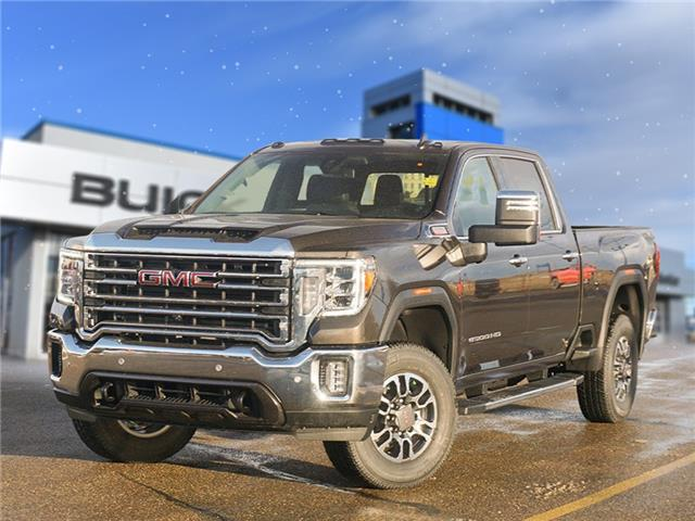 2021 GMC Sierra 3500HD SLT (Stk: T21-1715) in Dawson Creek - Image 1 of 15