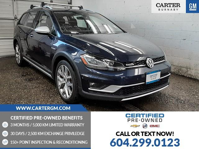 2018 Volkswagen Golf Alltrack 1.8 TSI (Stk: 81-40421) in Burnaby - Image 1 of 23