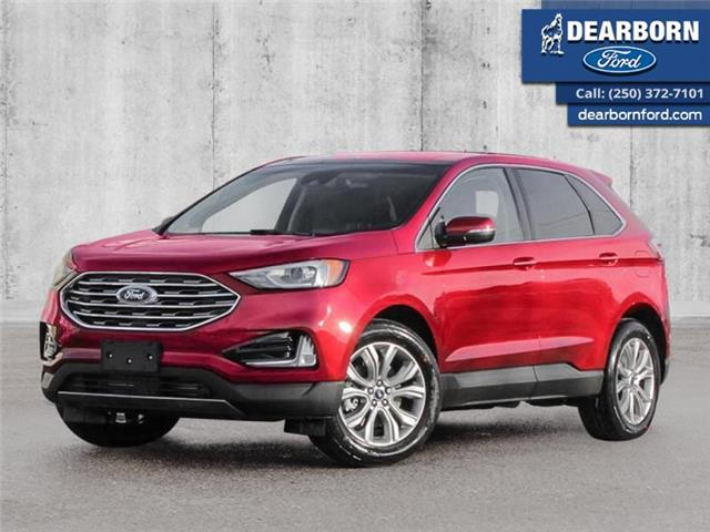2020 Ford Edge Titanium (Stk: EL465) in Kamloops - Image 1 of 23