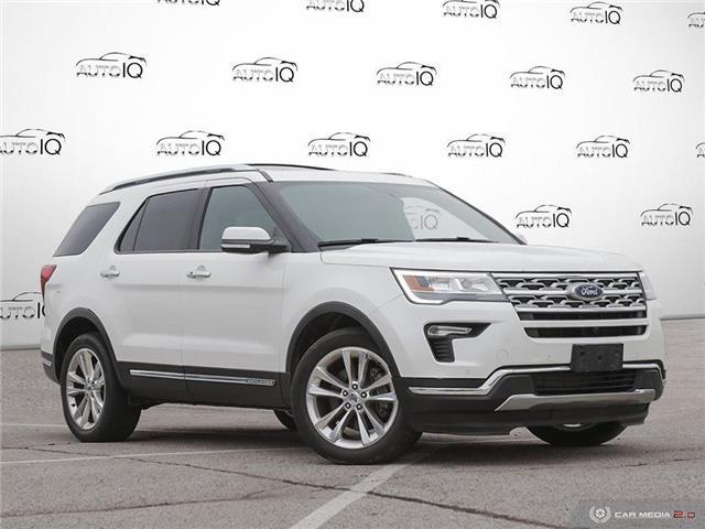 2018 Ford Explorer Limited White