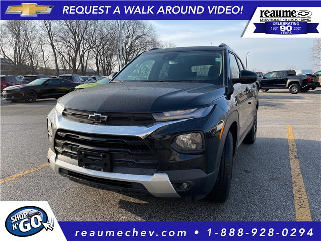 2021 Chevrolet TrailBlazer LT (Stk: 21-0258) in LaSalle - Image 1 of 7