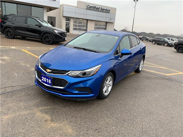 2016 Chevrolet Cruze LT Auto (Stk: 603545) in Strathroy - Image 1 of 10