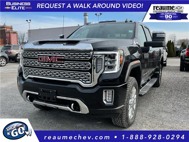 2021 GMC Sierra 2500HD Denali (Stk: 21-0275) in LaSalle - Image 1 of 7