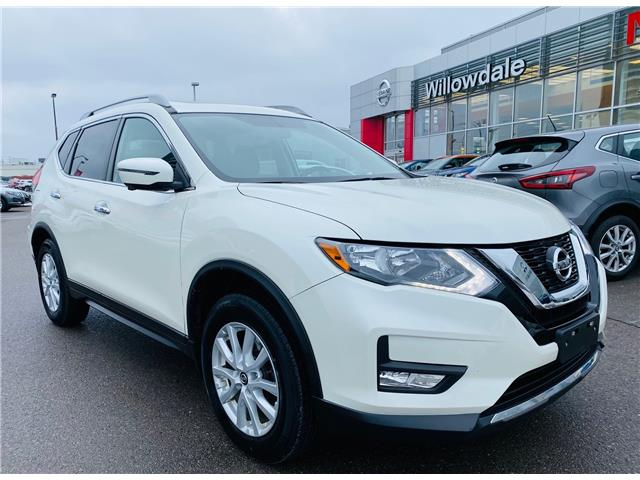 2017 Nissan Rogue SV (Stk: N1469A) in Thornhill - Image 1 of 19