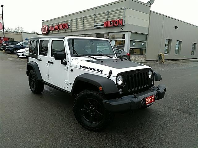 2017 Jeep Wrangler Unlimited Sport (Stk: 263576A) in Milton - Image 1 of 13