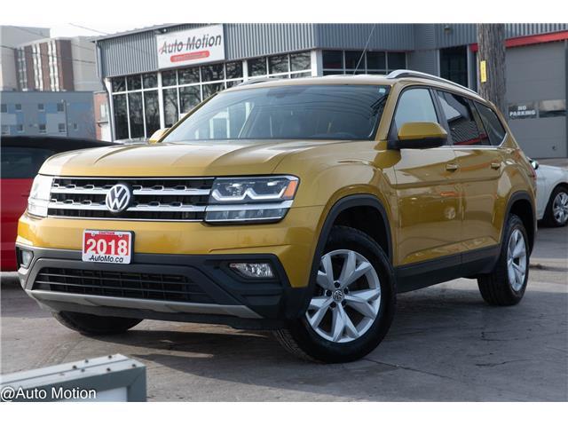 2018 Volkswagen Atlas 3.6 FSI Comfortline (Stk: 2118) in Chatham - Image 1 of 24