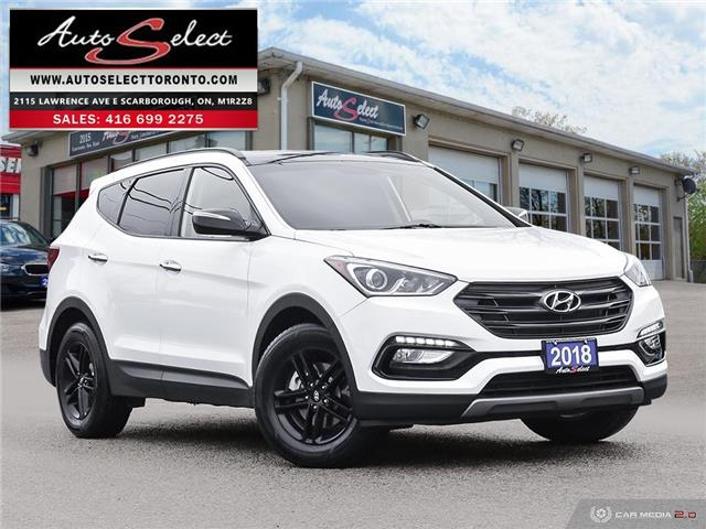 2018 Hyundai Santa Fe Sport 2.4 Premium (Stk: 1HTFX12) in Scarborough - Image 1 of 27