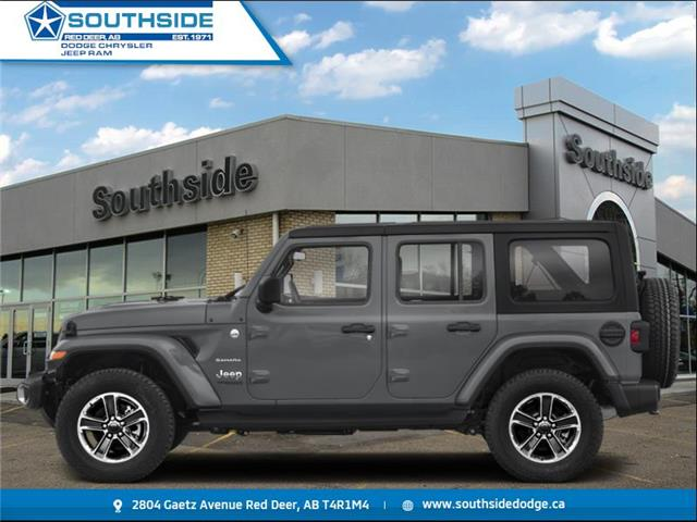 2021 Jeep Wrangler Unlimited Sahara (Stk: WR2123) in Red Deer - Image 1 of 1