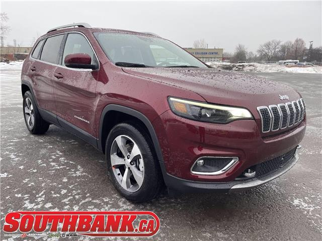 2021 Jeep Cherokee Limited (Stk: 210165) in OTTAWA - Image 1 of 20