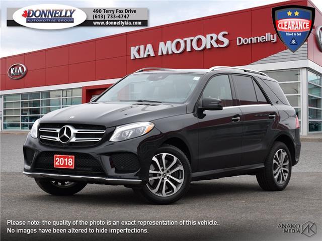 2018 Mercedes-Benz GLE 400 Base 4JGDA5GB8JA999607 KU2484 in Kanata