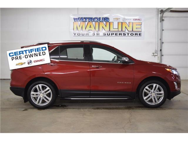 2018 Chevrolet Equinox Premier (Stk: M01155A) in Watrous - Image 1 of 48