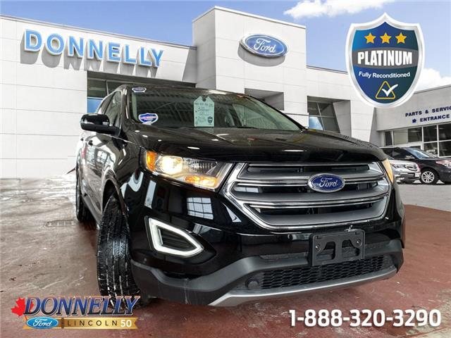 2018 Ford Edge SEL 2FMPK3J95JBB82023 PLDU6693 in Ottawa