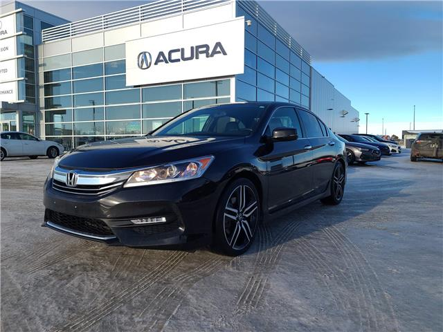 2017 Honda Accord Sport (Stk: A4319) in Saskatoon - Image 1 of 24