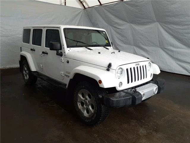 2015 Jeep Wrangler Unlimited Sahara (Stk: 2111331) in Thunder Bay - Image 1 of 6