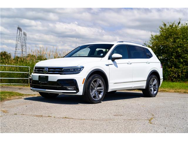 2021 Volkswagen Tiguan Highline (Stk: MT049172) in Vancouver - Image 1 of 22