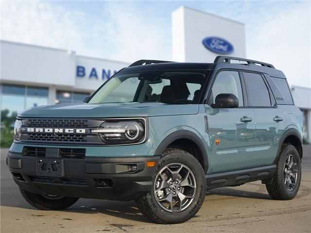 2021 Ford Bronco Sport Badlands (Stk: S210017) in Dawson Creek - Image 1 of 18