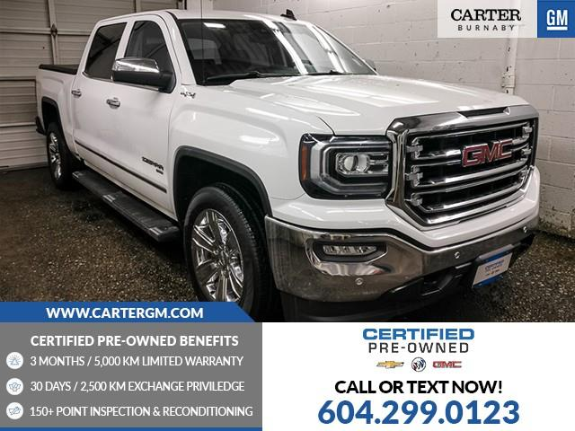 2018 GMC Sierra 1500 SLT (Stk: C0-00141) in Burnaby - Image 1 of 24